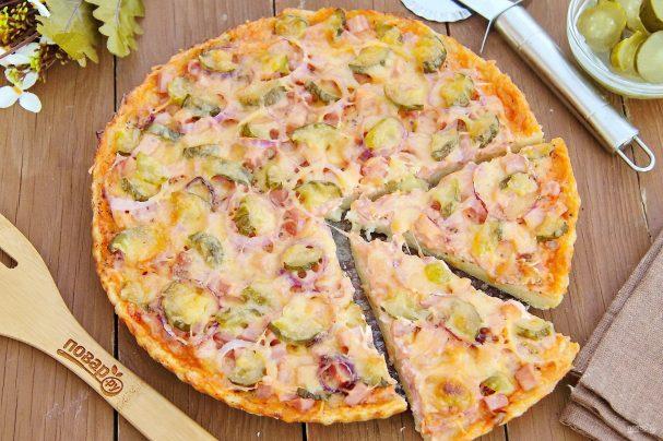 Картофельное тесто для пиццы