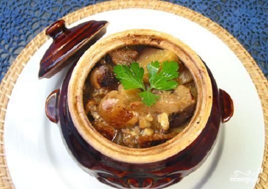 Свинина по сибирски в духовке с картошкой