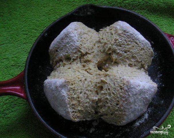 Ирландский хлеб из овсянки