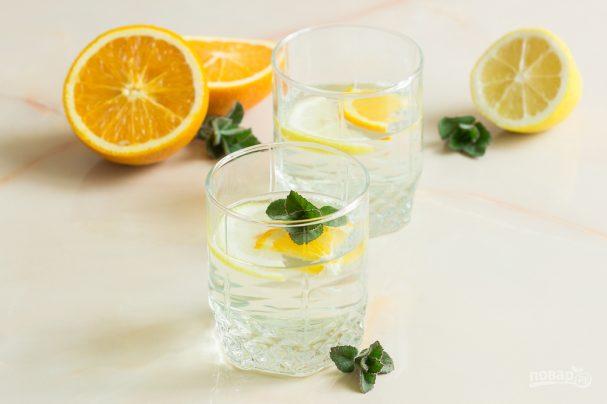Берёзовый сок с лимоном