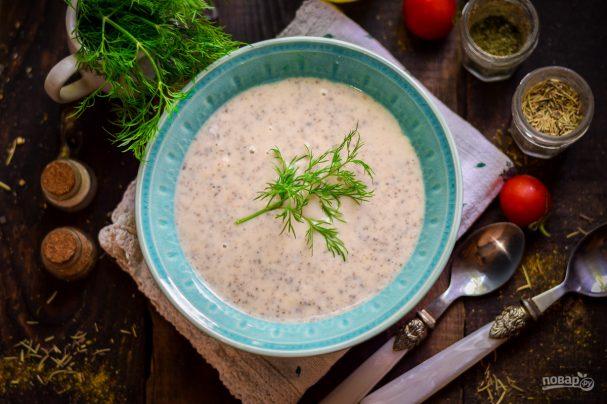 Грибной суп как в Икеа