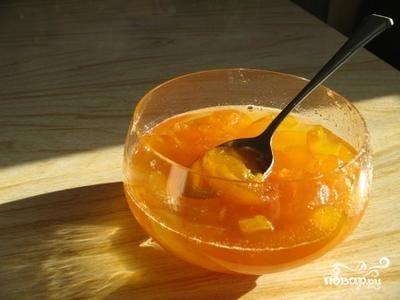 Варенье из яблок с цедрой лимона и корицей