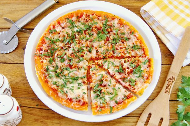 Пицца с морковью