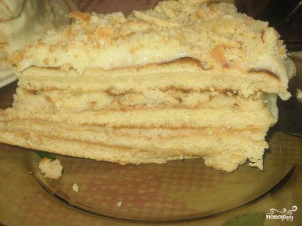 Пирог-минутка на сковороде