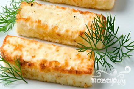 Жареный сыр фета