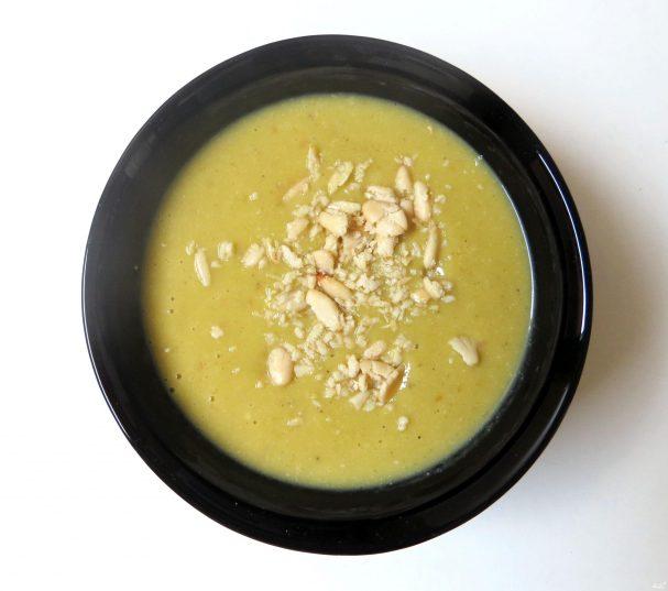 Суп-пюре из тыквы и брокколи