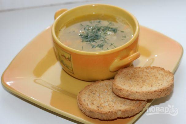 Суп гороховый классический