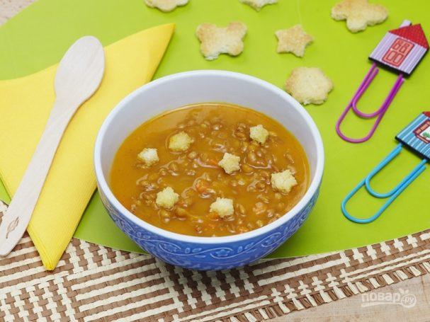 Детский суп от 3 лет