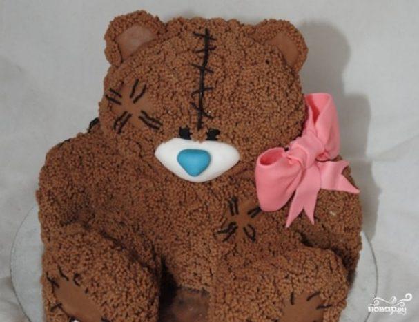 рецепты для детский торт медвежонок пошагово с фото