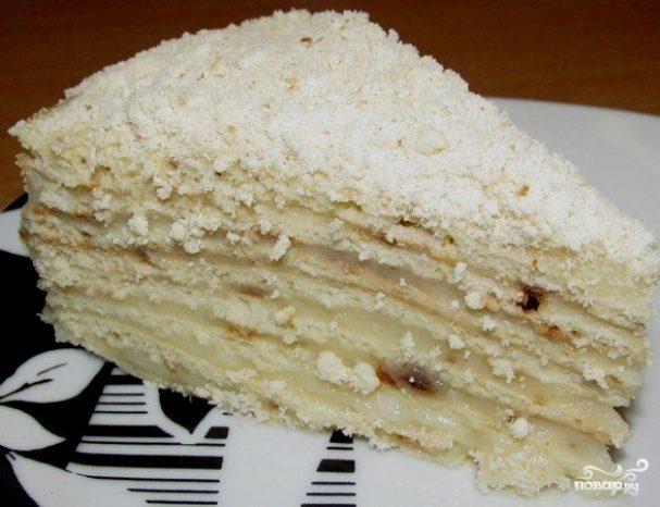 на сковороде рецепты торт