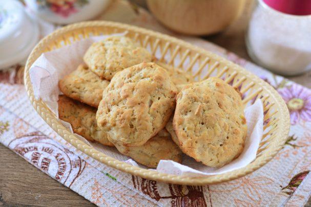 Овсяное печенье на кефире с бананом