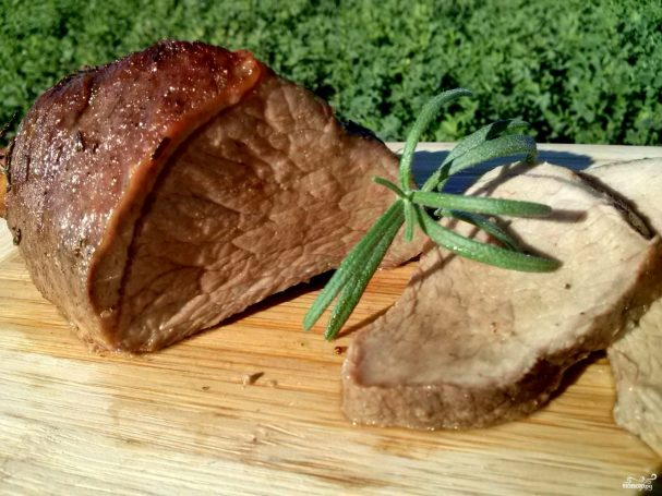 Ростбиф из говядины классический рецепт