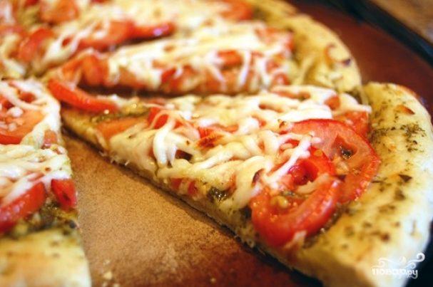 быстрый рецепт пиццы без дрожжей в домашних условиях