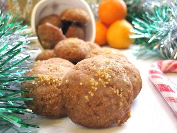 Рождественское печенье со специями