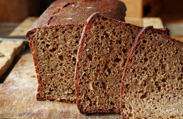 Черный хлеб простой