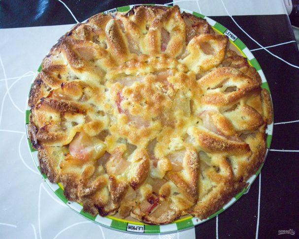 Пирог в силиконовой форме