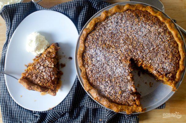 Пирог из овсяных хлопьев