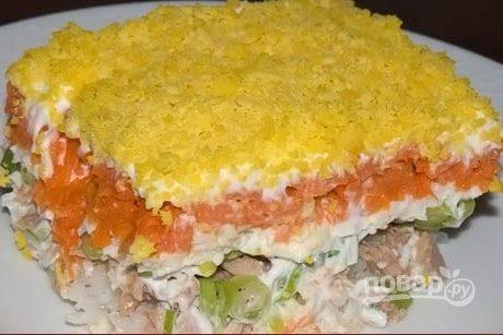 Рецепт мимозы с рисом в фото #5