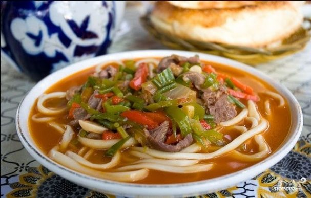 Говядина по-узбекски