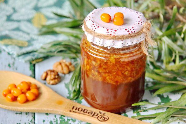 варенье из облепихи с мёдом