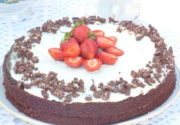 Домашние торт легкий