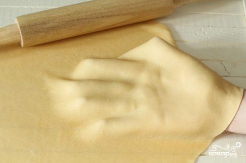 Тонкое тесто для пельменей