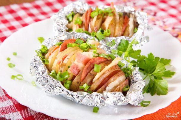 Картошка-гармошка в мультиварке