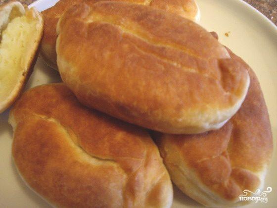 Пирожки на молоке