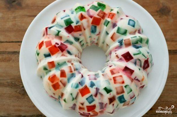 творожные десерты с желатином