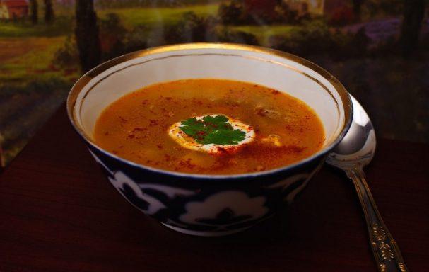 Бобовый суп; Мунг; рецепт с фото на