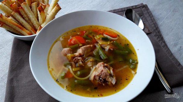 Вкусный суп из кролика