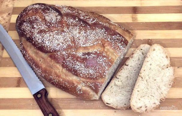 Белый сдобный хлеб