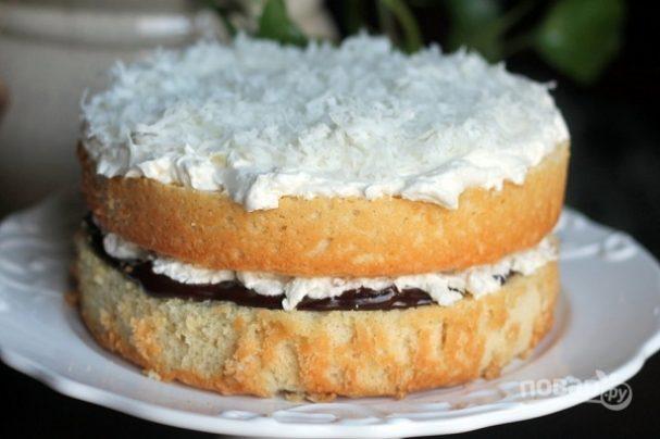 Торт с кокосом