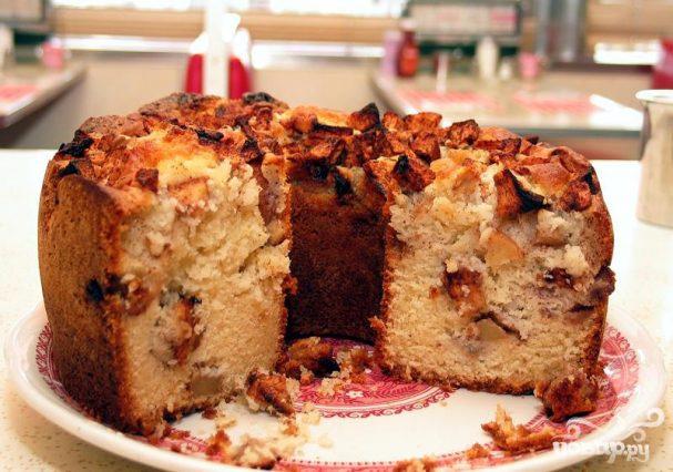 Еврейский яблочный пирог