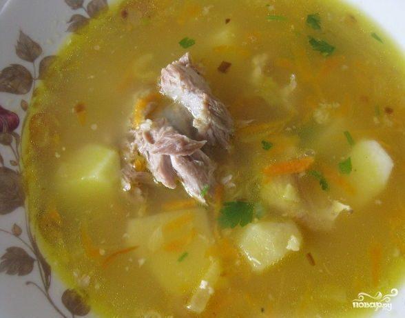 Гороховый суп с бараниной
