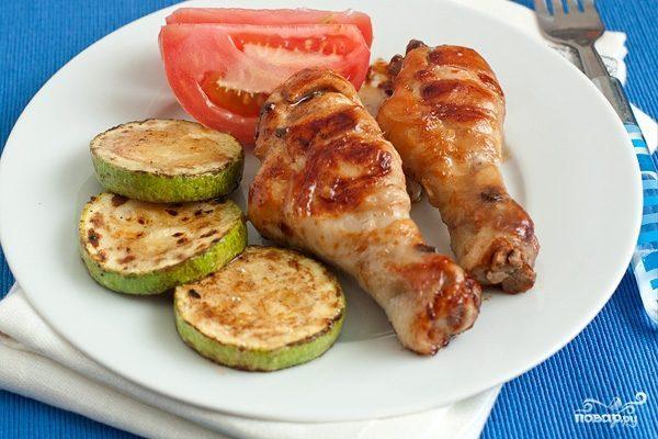 Курица в имбирно-медовом соусе