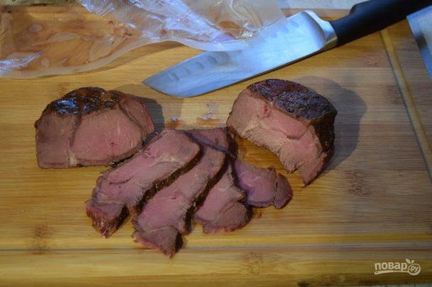 Пacтрoмa из говядины
