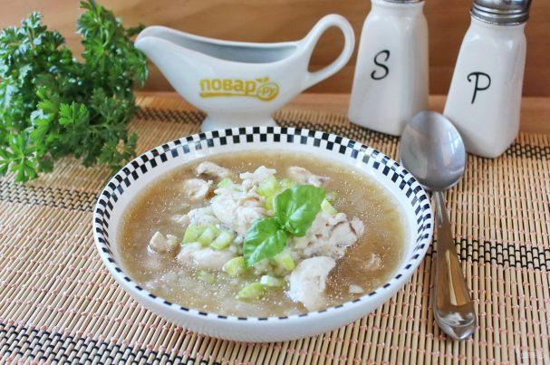 Китайский рисовый суп
