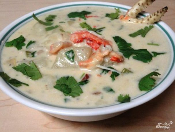 Суп из крабов