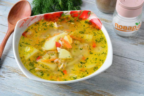 Суп с красным острым перцем