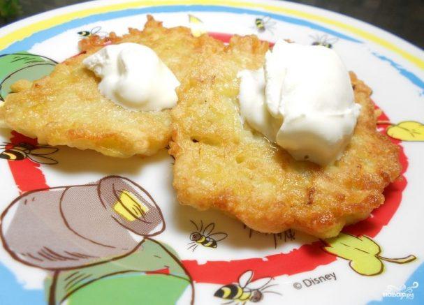 Драники картофельные с луком
