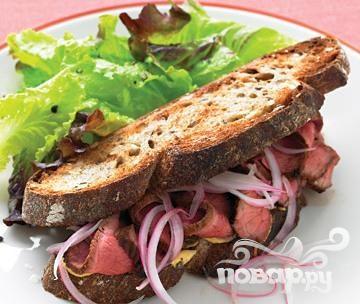 Сэндвичи со стейком и луком