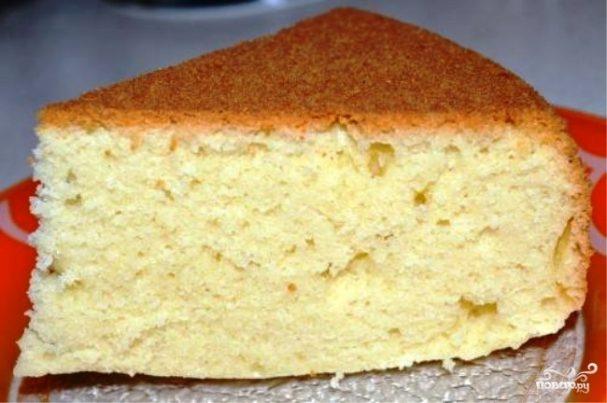 как приготовить бисквит из сметаны