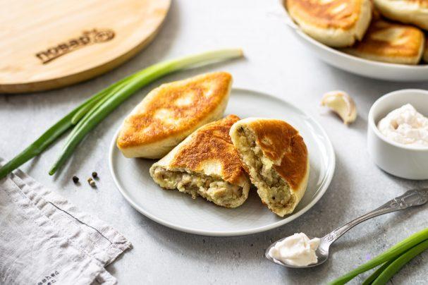 Пирожки из манки