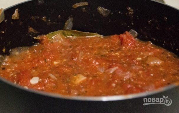 Домашний томатный соус для макарон