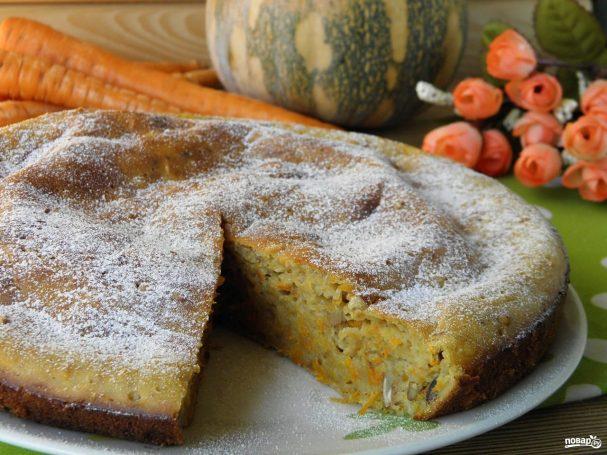 Морковный пирог классический