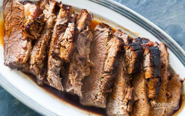 Мясо в фольге в духовке