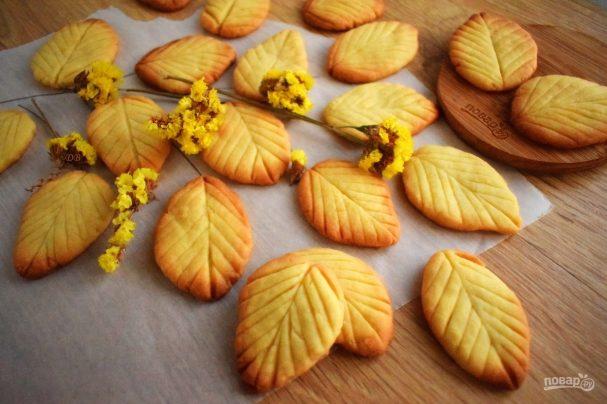 """Печенье """"Весенние листья"""""""