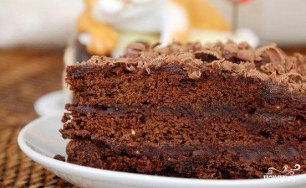 Шоколадный торт на скорую руку