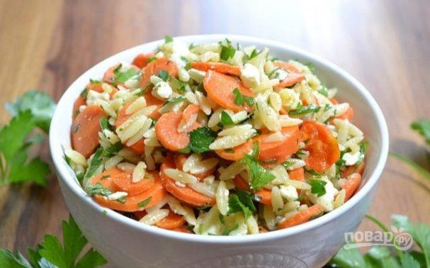 """Салат с морковью и сыром """"Фета"""""""